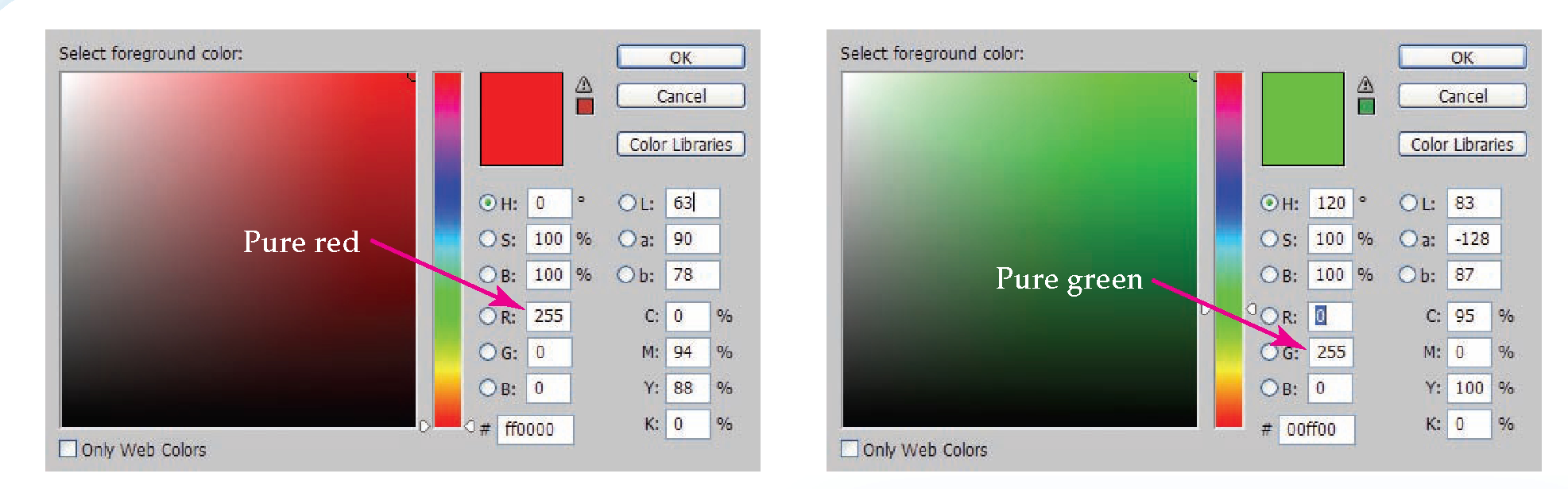 Using Color Libraries and Options (Communicating with Color ...