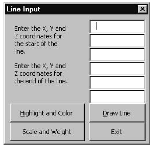 Drawing Lines In Userform : Scales and weights for lines macro izing line drawing