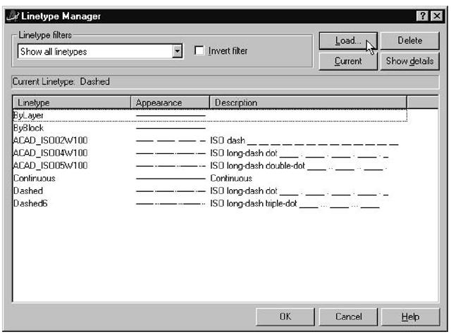 Setting Linetypes (Macro-izing Line Drawing) (AutoCAD VBA
