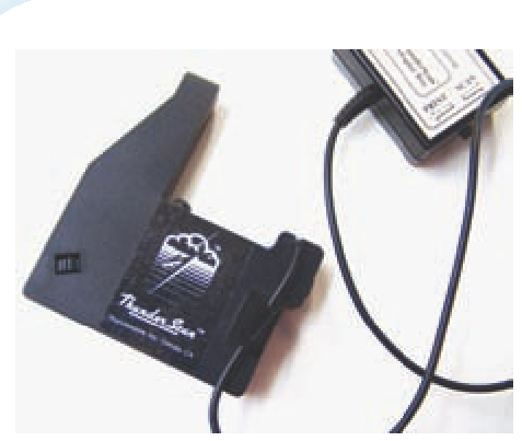 Thunderscan developed an early scanner that replaced the printer ribbon in an ImageWriter.