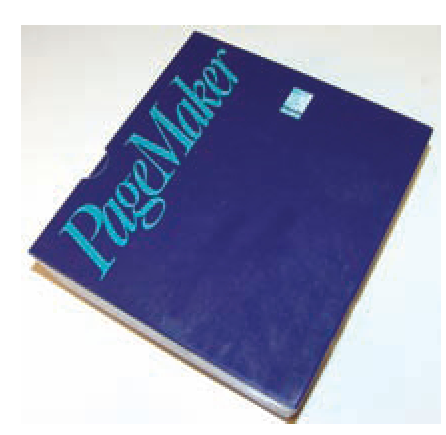 Aldus PageMaker was the first desktop publishing program available for use on a computer.