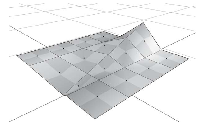 Polygon surface