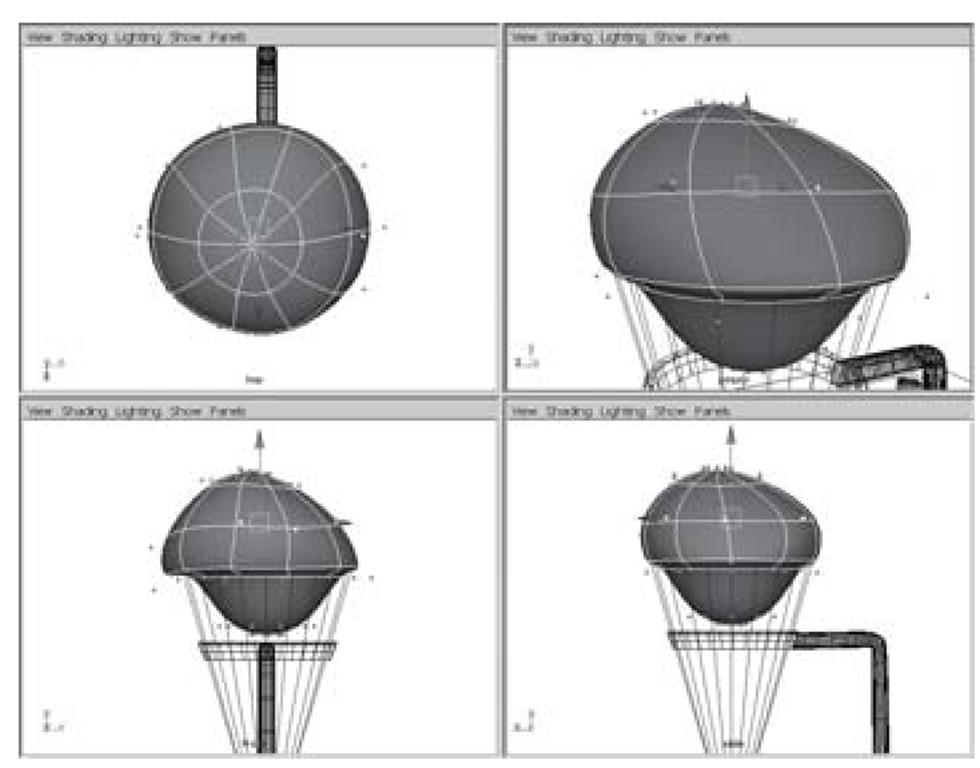 The reshaped sphere scoop