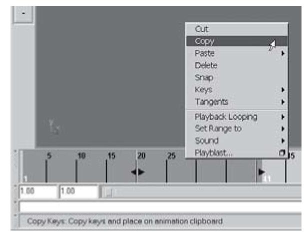 Copying keys