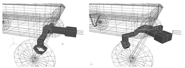 Correcting the yoke pivot point