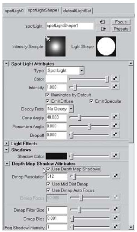 Shadow attributes