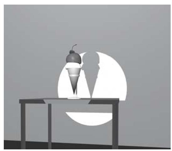 Cone angle of 20°