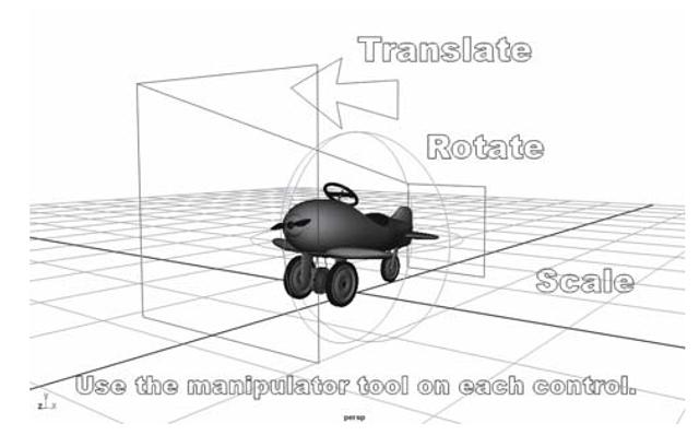 The pursuit plane transformation exercise