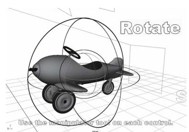Using the Rotate Tool