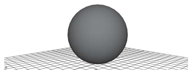 Smooth shaded sphere