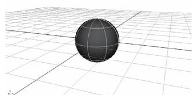 Initial body sphere
