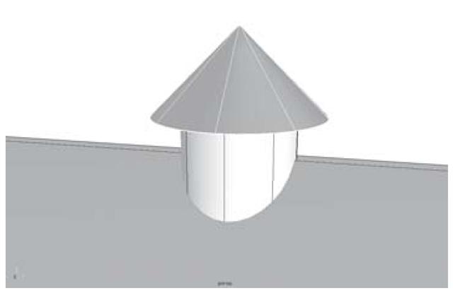 The vent hood