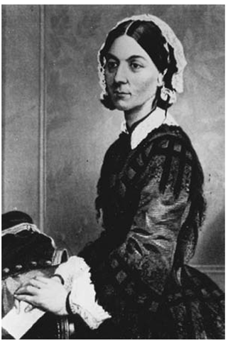 Florence Nightingale. (Photo courtesy of the Center for the Study of the History of Nursing.) The Florence Nightingale Museum in London, England, has multiple pictures and historical collections of this legendary woman and her contemporaries.
