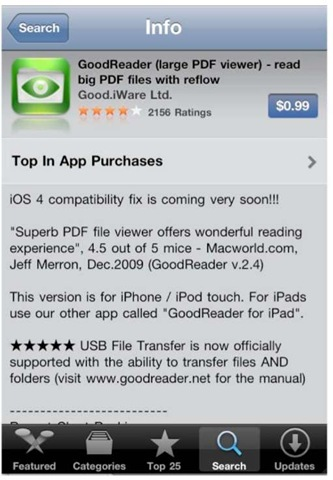 Pdf Reader For Iphone 4